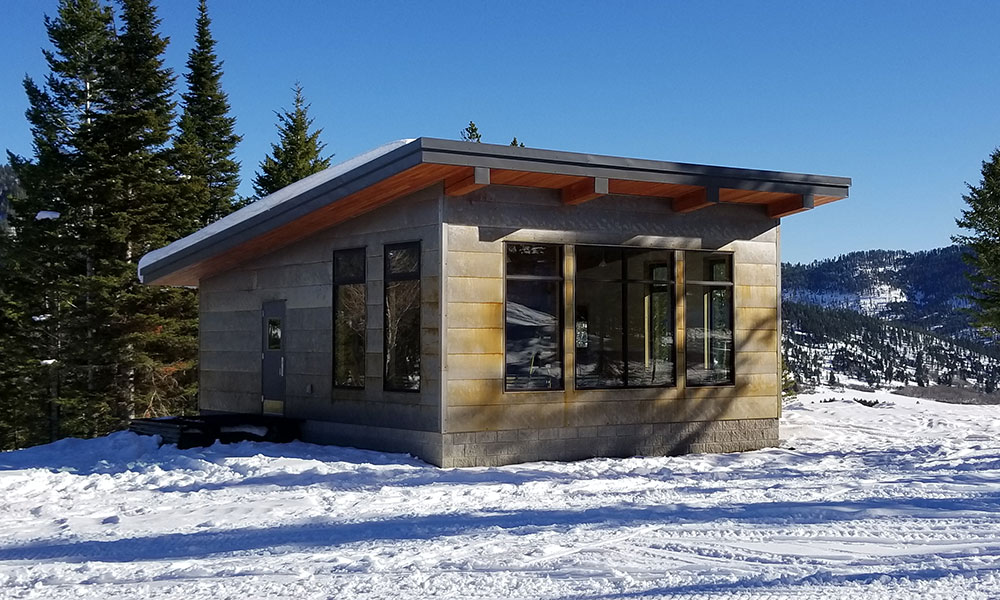 Bridger Bowl Warming Hut in Bozeman, MT