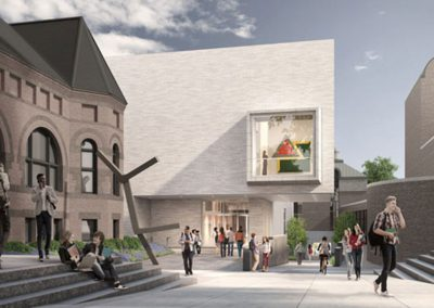 Dartmouth College, Hood Museum Renovation, Hanover New Hampshire