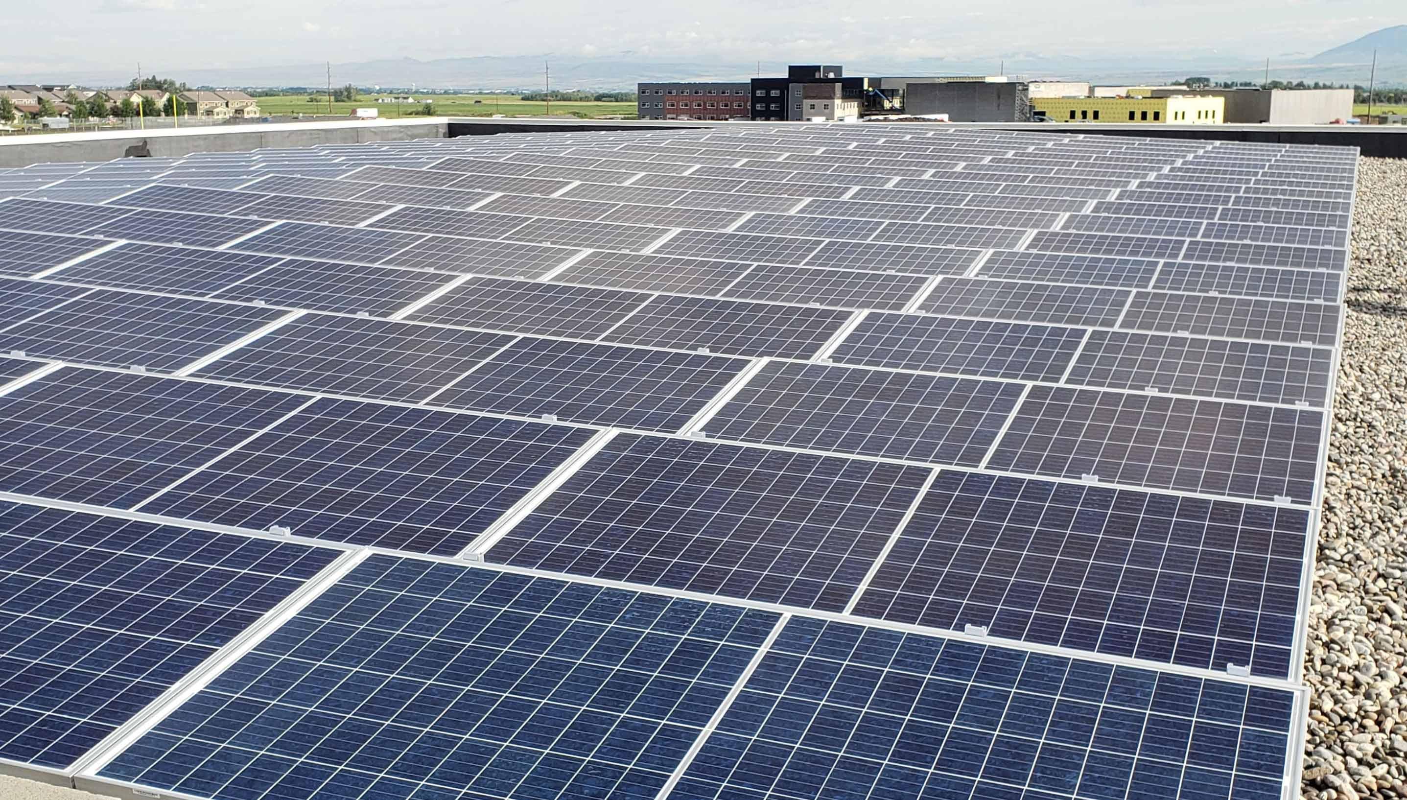 Bozeman Schools Solar Panels Ae Dynamics